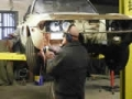 Triumph Stag welding and fabrication in progress
