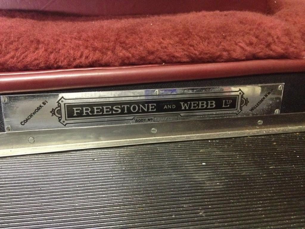 Freestone and Webb Bentley